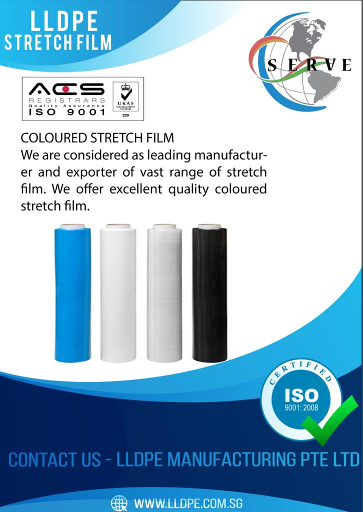 color new stretch film